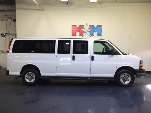 e0ceecddb6 Pre-Owned 2015 Chevrolet Express Passenger RWD 3500 155 LT w 1LT ...